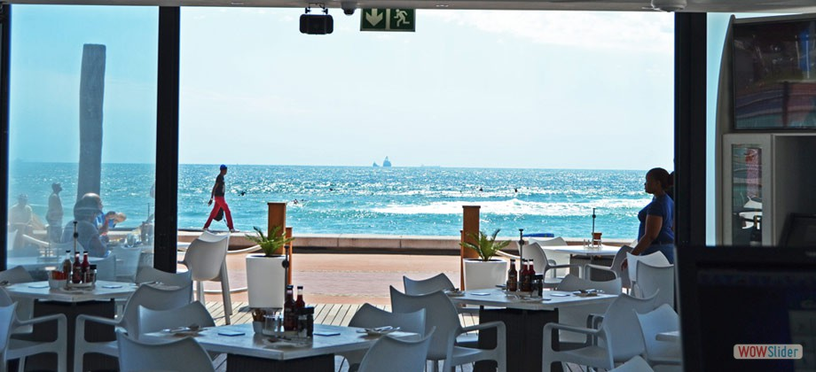 Amazing Ocean-View from Our Al Fresco Style Bar & Restaurant